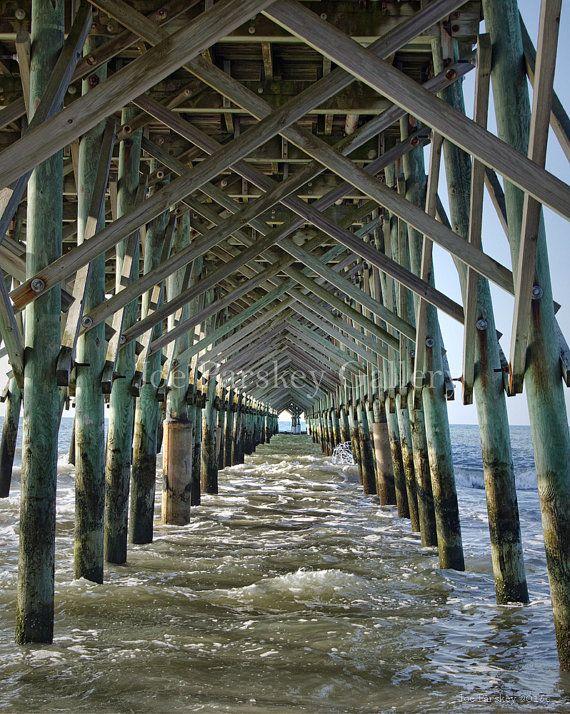 "The ""Cathedral"" at Folly Beach Fishing Pier, James Island, South Carolina…"