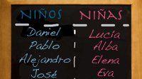 Nombres españoles para niños y niñas