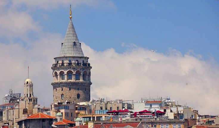 """Galata Tower has a Byzantine origin. In order to guard the entrance to Golden Horn, Justinian built a Byzantine Tower called """"Megalos Pyrgos"""" which was replaced by the Genoese and named as """"Christea Turris"""" (Tower of Christ)."""