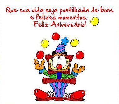 Que sua vida seja pontilhada de bons e felizes momentos. Feliz Aniversário!