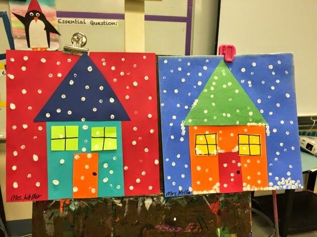 Splish Splash Splatter: Winter Houses