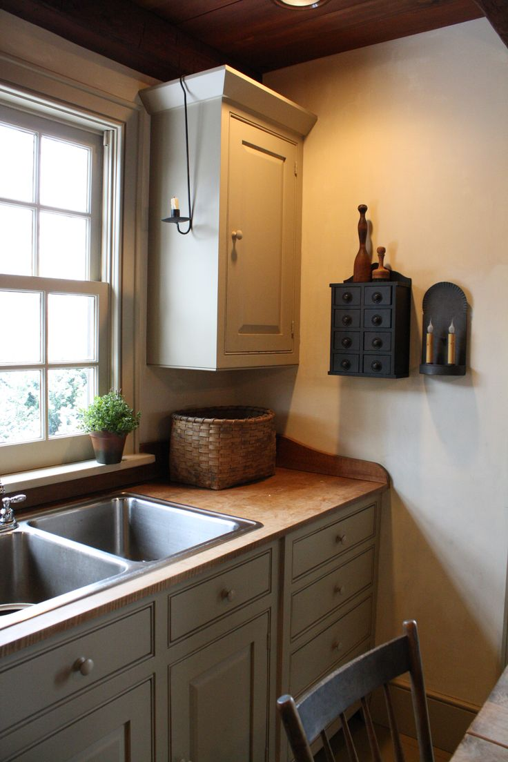 kitchens buttery colonial kitchen sink simple Primitive KitchenPrimitive CountryPrimitive DecorColonial