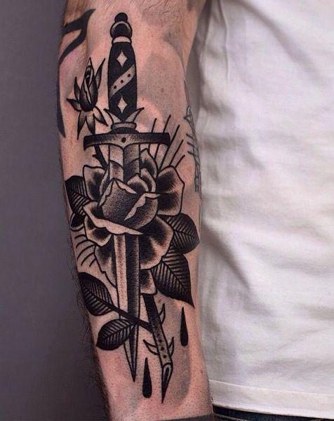 Dagger&rose