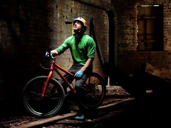 Danny Macaskill. The man. Scottish street trials rider. Check out his short films on youtube, your mind will be blown