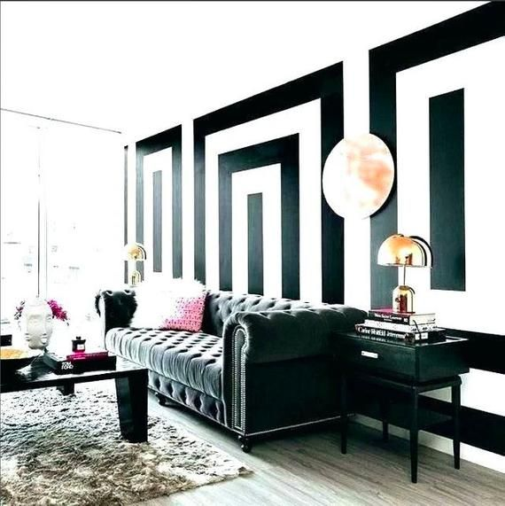 Black 6 Wide Stripe Decal Roll Black Wall Tape Black Peel And Stick Striped Wall Decal Removable Striped Walls Bedroom Striped Walls Living Room Striped Walls