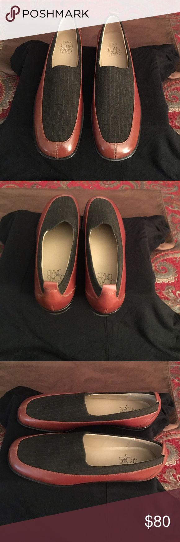Circa Joan Women Loafers Shoes NWT Circa Joan Women Leather Loafers Shoes Circa Joan & David Shoes Flats & Loafers