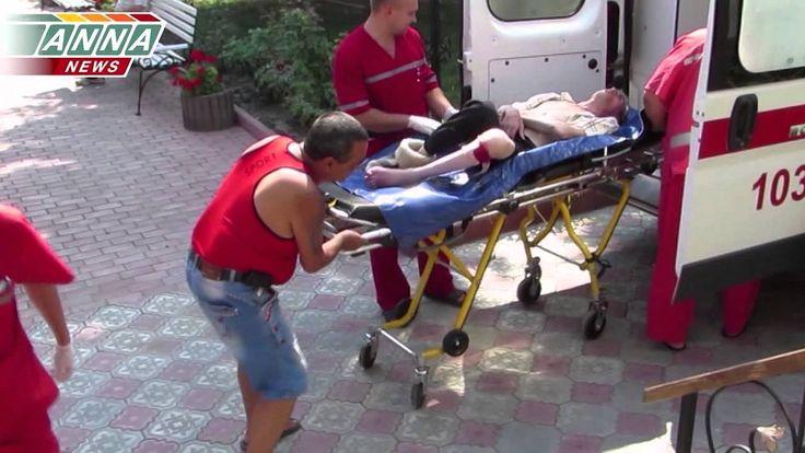 Жертвы минометного обстрела дома престарелых 18+