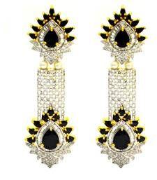 Designer black long american diamond party wear chandellier