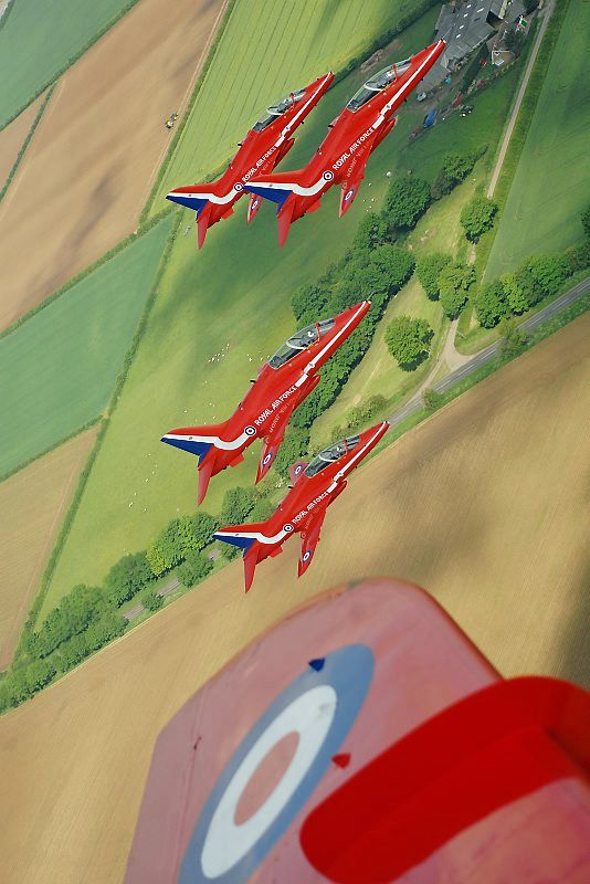 Royal Air Force Aerobatic Team, the Red Arrows