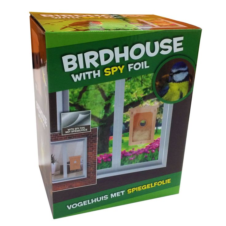 Meekijk vogelhuisje > Educatief speelgoed > Al het speelgoed > Apart, leuk en hip speelgoed, webwinkel TrendySpeelgoed.nl
