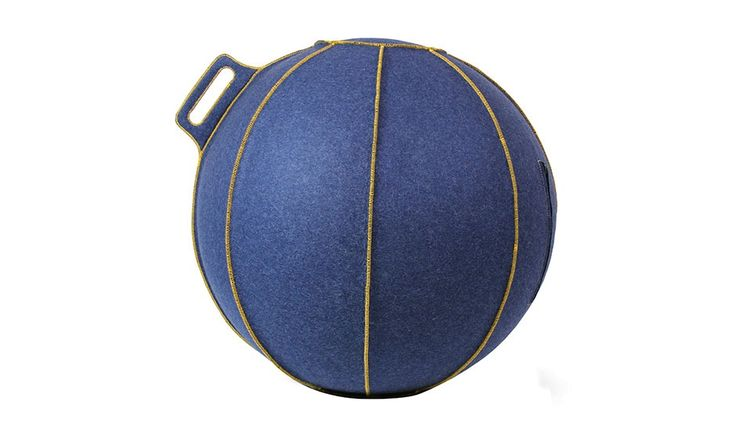 MONOQI | Sm Velt Seating Ball - Blue
