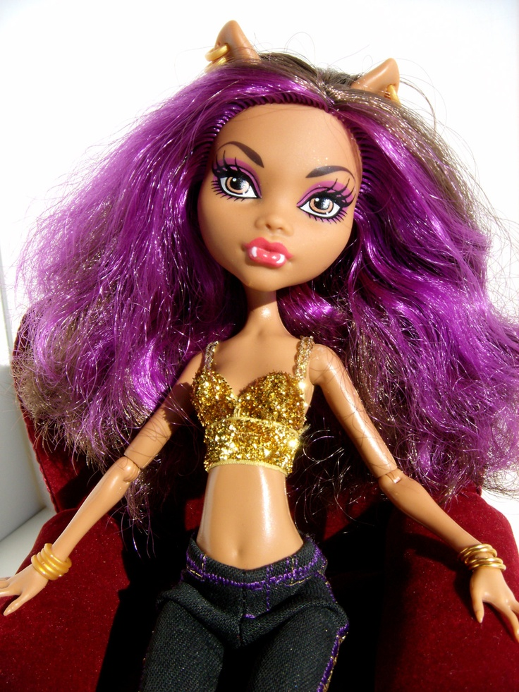 Bra top monster high clawdeen wolf cleo denile 7 00 via etsy
