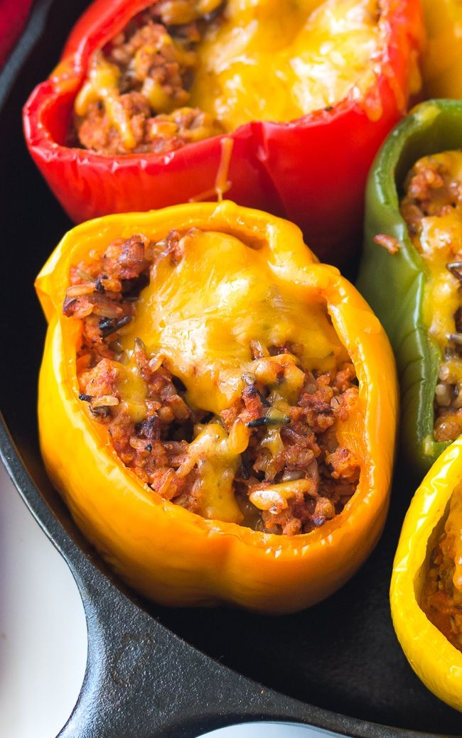 Easy Ground Turkey Stuffed Peppers Recipe Stuffed Peppers Ground Turkey Stuffed Peppers Stuffed Peppers Turkey