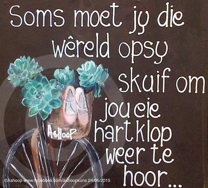 Word stil...soms __[AShooP-Tuinkuns/FB] #Sometimes #Afrikaans