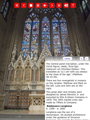 Tour historic Grace Episcopal Church in NYC on your iPad for only 1.99$