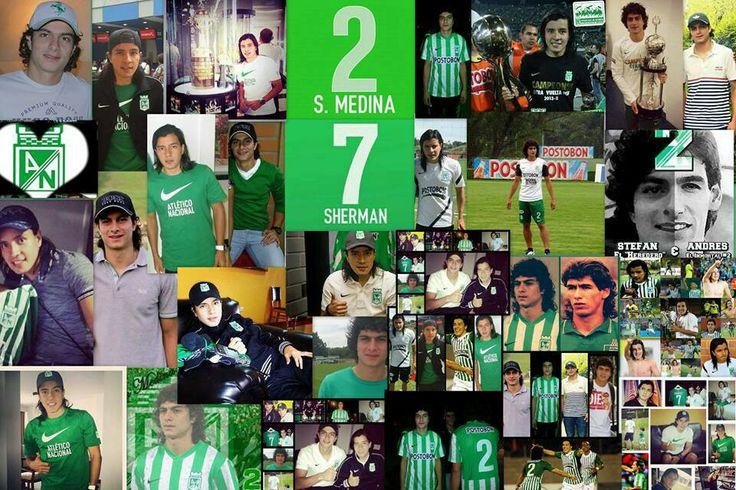 Atletico nacional...Steffan Medina-Sherman Cardenas... CON EL CORAZON DE ANDRES