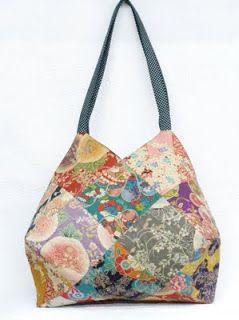 Quilting inspiration: Patchwork Mariko Japan: Patchwork