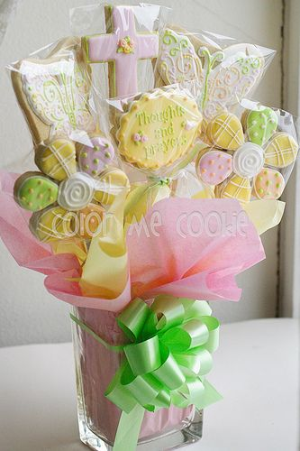 Color Me Cookie Can Make Any Bouquet For Occasion These Bouquets Great Centerpieces Your Wedding Or Baby Shower