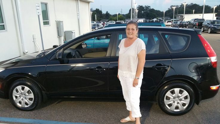 "Ms. Strong came into Lakeland Automall in the hopes of finding a new vehicle. With the help of salesman Greg Cohen, Ms. Strong left with a pre-owned 2012 Hyundai Elantra Touring! ""Great guy, easy to work with!"" We really appreciate your business here with us! We hope that you are enjoying your new Hyundai Elantra Touring and please; if there is anything that we can do, don't hesitate to ask… We are here to help! #LakelandAutomall #HyundaiElantraTouring"