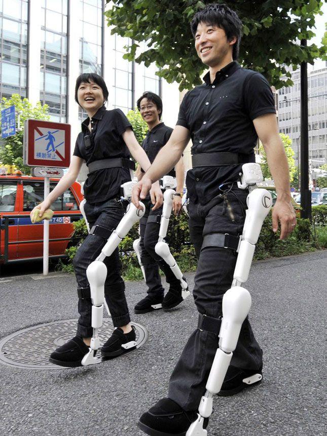 HAL : l'exosquelette mécanique au service des touristes handicapés