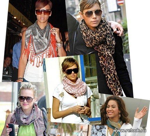 Как правильно подобрать и красиво завязать шарф на шею