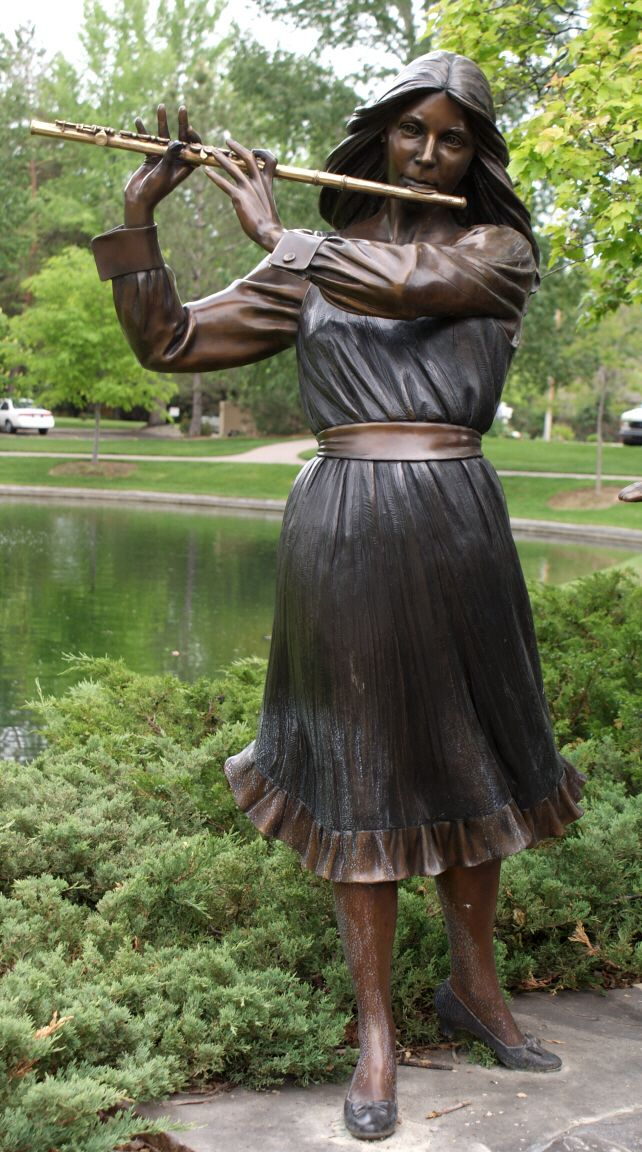 Bronze Sculpture by George Lundeen, Street Art