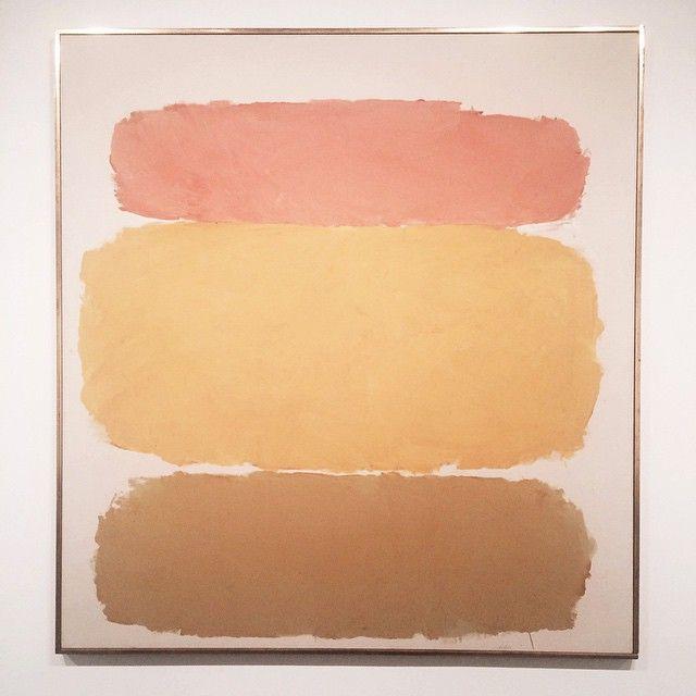 Spring palette inspiration. Ray Parker, Untitled 1960