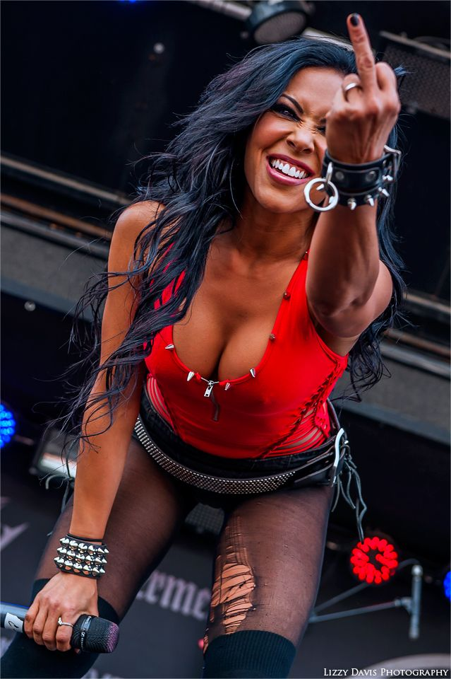 rockconcertphotography: Carla Coates, Butcher BabiesRock on the Range 2014 © Rock: Front/Center | More Photos on Facebook