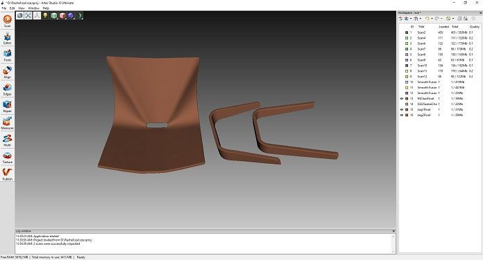 skan 3D dopasowanie