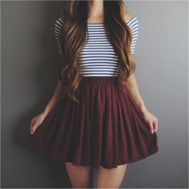 25 Cute Outfits For Teenage Girl in Summer
