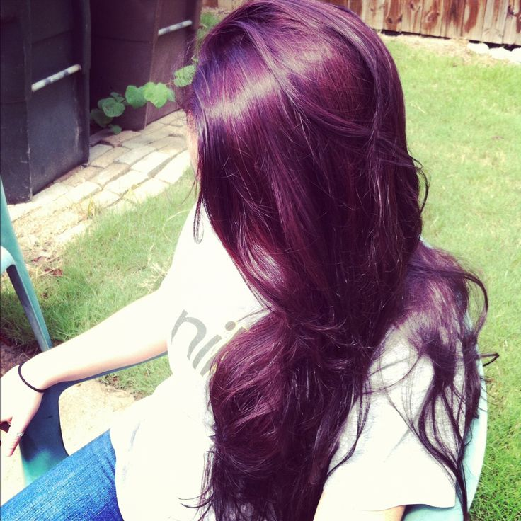 Plum hair | Pretty Things | Pinterest