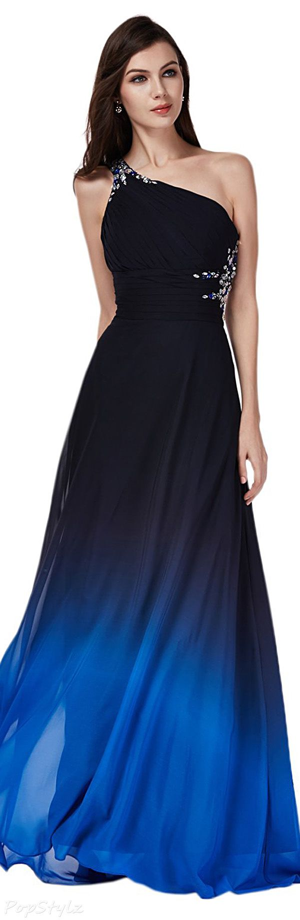 Sunvary 2016 Gradient Custom Colors Long Formal Dress