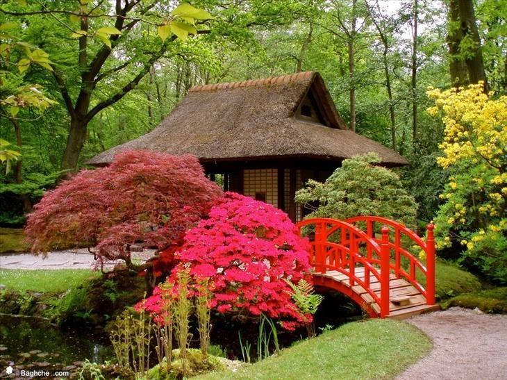 20 imágenes de sorprendentes y hermosos diseños de jardines japoneses ubicados en todo el mundo.