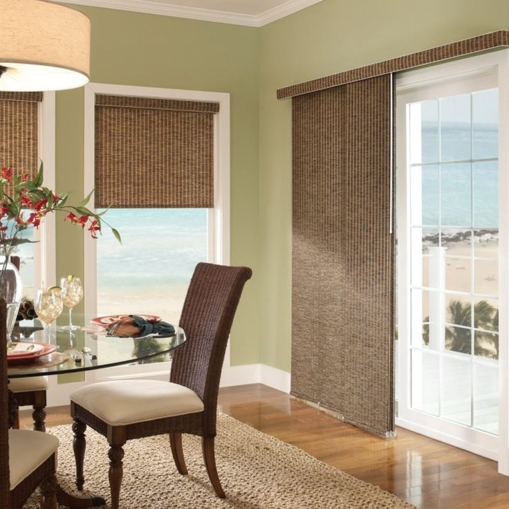 Sliding Glass Door Coverings: 25+ Best Ideas About Blinds For Patio Doors On Pinterest