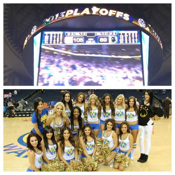 Warriors Dance Team on. Golden State Warriors