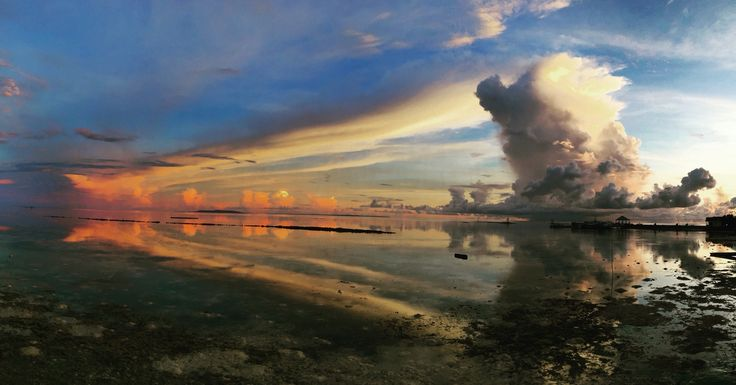 Wangi wangi island, Wakatobi, Indonesia @sunrise
