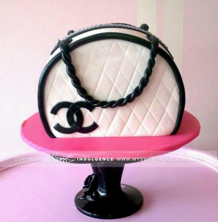 fondant cakes purse