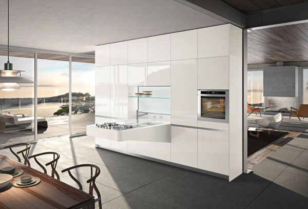 The times that affect the lifestyles and economic needs, changing needs of human life to be an inspiration by Snaidero to create modern kitchen as a solutions that more easily accessed because it is simple and has an affordable price. Snaidero is a kitchen producer from Italy.
