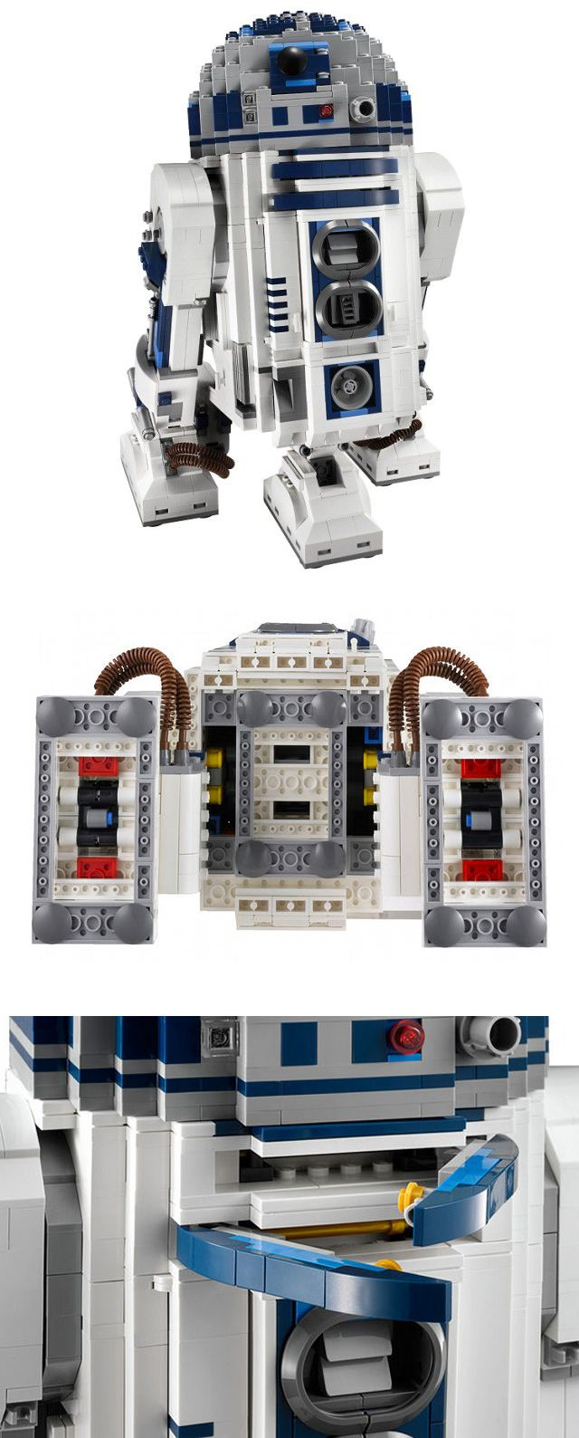 Star wars r2 d2 lego whereas this r2 d2 made of lego is for ages 16 is justified the heading - Lego starwars r2d2 ...