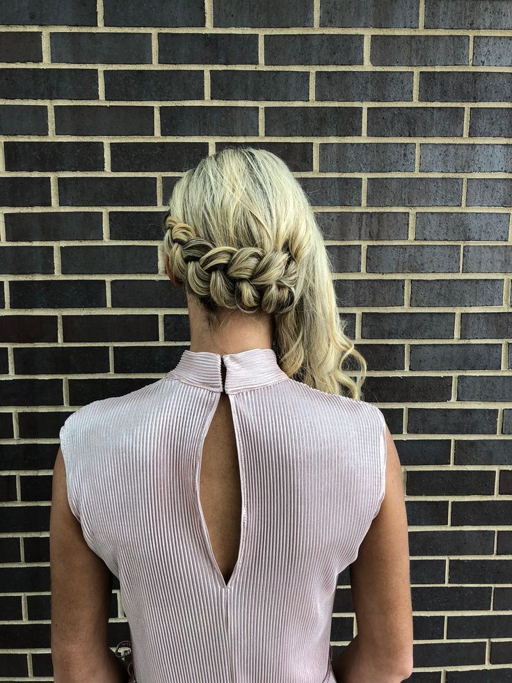 dutch braids like this one can keep your hair out of your ...