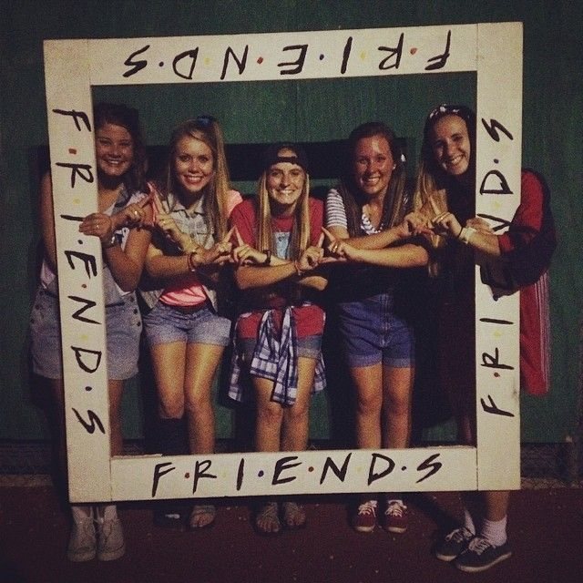 Found some new sistah friends at camp orientation! #tridelta #welovethe90s #cbs