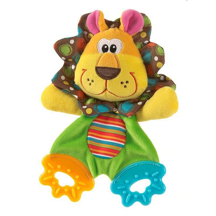 Cartoon Animals Girl Baby Teethers Rattles Ring Paper Appease Baby Toys Baby Dental Care Toothbrush -- BYC076 PT49 //Price: €7.64 & FREE Shipping //   #fashion #baby #clothes #trendy #2017