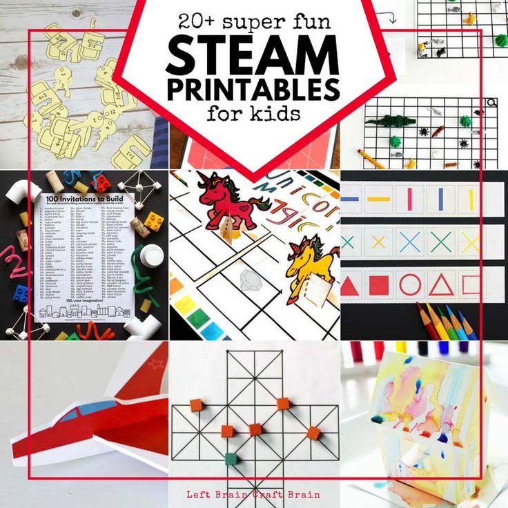 steam printable activities for kids sciencecamp. Black Bedroom Furniture Sets. Home Design Ideas
