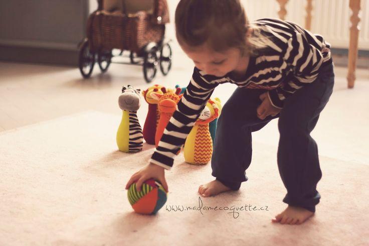 Madame Coquette: hračky, které nás baví / plyšové kuželky Fiesta Crafts