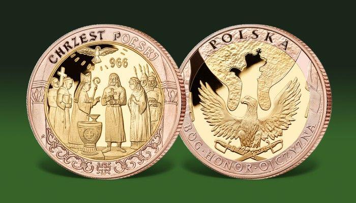 Dzieje narodu polskiego - chrzest Polski