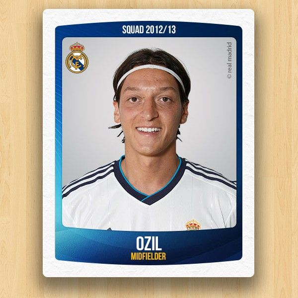 Real Madrid Collections - Mesut Özil