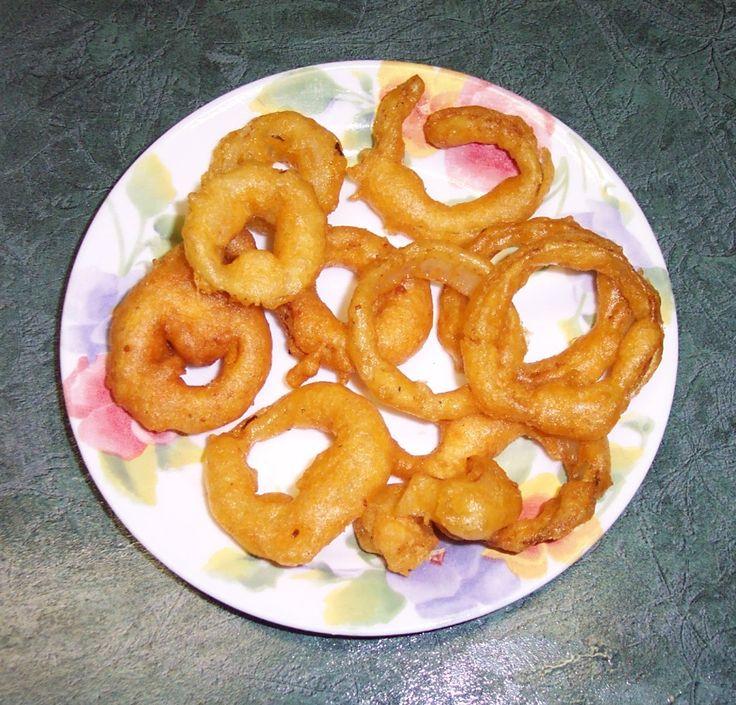 How to Make Homemade Fried Onion Rings ... Mmm-Mmm Good