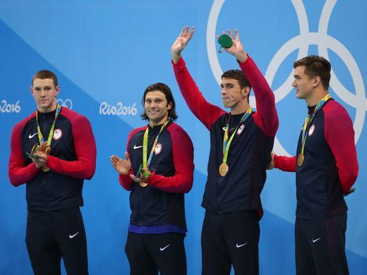 Michael Phelps ends career with 23rd Olympic gold medal as U.S. wins medley…