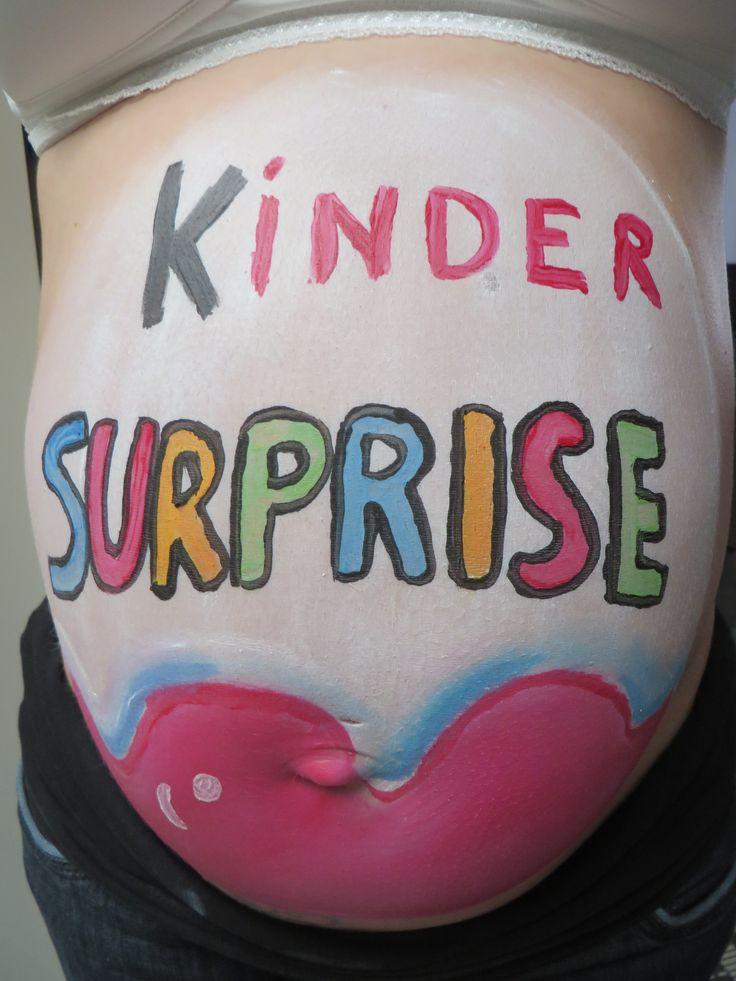 bellypaint kinder surprise