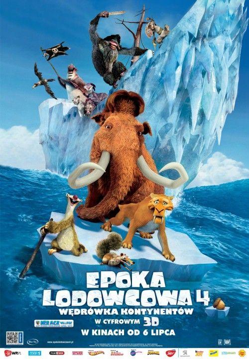 Epoka lodowcowa 4: Wędrówka kontynentów 3D (2012)